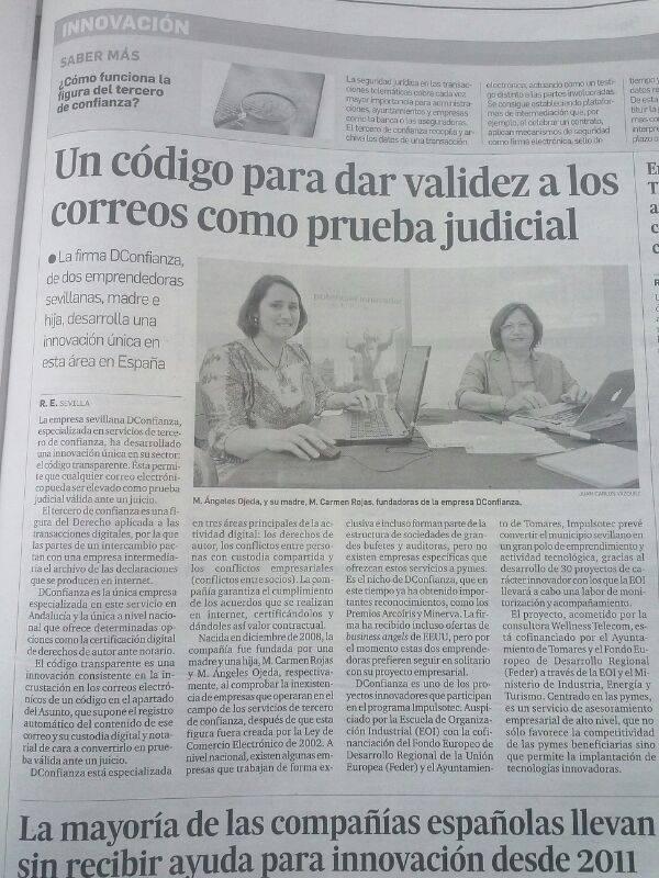 Diario de Sevilla 31.5.14
