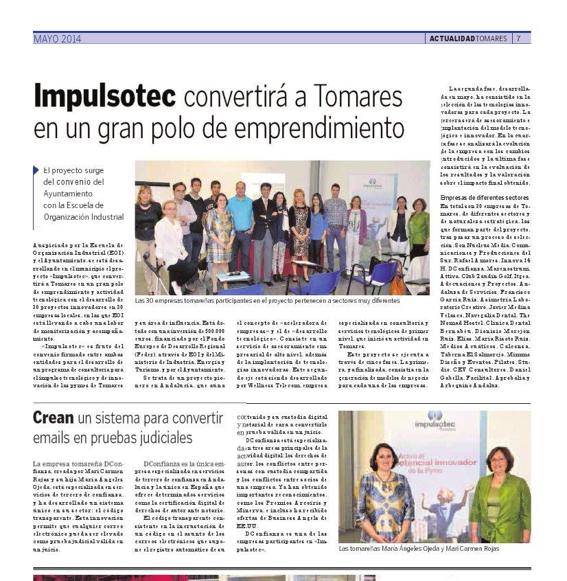 La Voz de Tomares, nº 69 mayo 2014