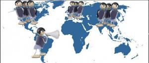 Mapa de la comunicación internacional y los intermediarios